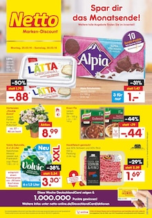Netto Marken-Discount, SPAR DIR DAS MONATSENDE für Essen