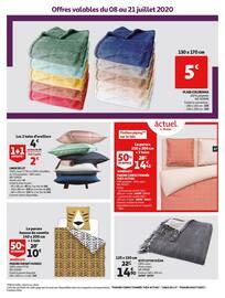 Catalogue Auchan en cours, Le Blanc collection d'été, Page 47
