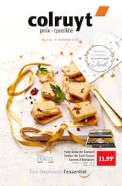 Catalogue Colruyt en cours, Retrouvez à l'intérieur un avant goût de Noël, Page 1