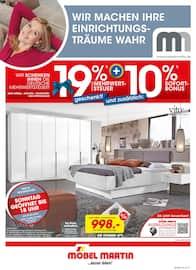 Aktueller Möbel Martin Prospekt, …besser leben!, Seite 1