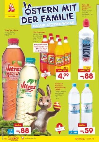 Aktueller Netto Marken-Discount Prospekt, Wir wünschen frohe Ostern, Seite 16