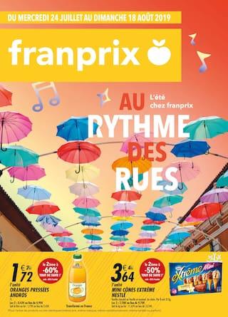 Catalogue Franprix en cours, Au rythme des rues, Page 1