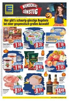 EDEKA Prospekt für Königsmoos: WUNSCHLOS GÜNSTIG, 20 Seiten, 24.10.2021 - 30.10.2021