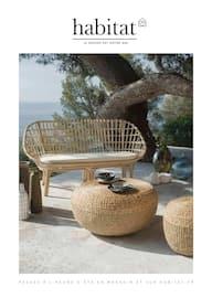 Catalogue Habitat en cours, Passez à l'heure d'été en magasin et sur habitat.fr, Page 1