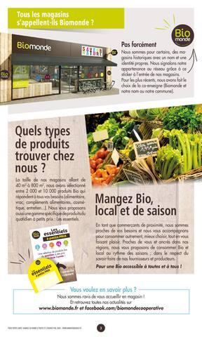 Catalogue Biomonde en cours, Partageons la Bio en toute gourmandise !, Page 3