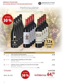 Aktueller Brogsitter Vinothek Grafschaft Prospekt, Geniessen Sie die Farben des Herbstes mit unseren schönen Weinen!, Seite 10