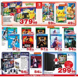 Catalogue Maxitoys en cours, Maxitoys Bien plus que du jouet !, Page 23