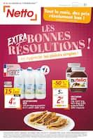 Catalogue Netto en cours, Tout le mois, des prix résolument bas !, Page 1