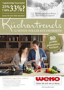WEKO Wohnen - Küchentrends