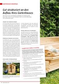 Aktueller BAUHAUS Prospekt, Gartenhäuser/Carports, Seite 32