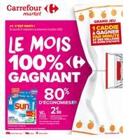 Catalogue Carrefour Market en cours, Le mois 100% gagnant, Page 1