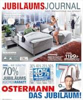 Aktueller Ostermann Prospekt, JUBILÄUMS JOURNAL , Seite 1