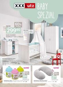 XXXLutz Möbelhäuser Prospekt für Sulzbach (Taunus): Baby Spezial, 8 Seiten, 24.10.2021 - 7.11.2021