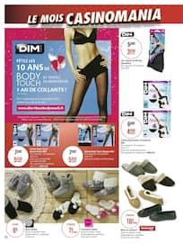 Catalogue Géant Casino en cours, Le mois Casinomania, Page 84