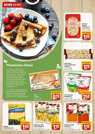 Aktueller REWE Prospekt, Street Food für Zuhause, Seite 18