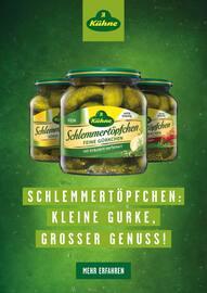 Aktueller Kühne Prospekt, Schlemmertöpfchen: Kleine Gurke, Grosser Genuss!, Seite 1