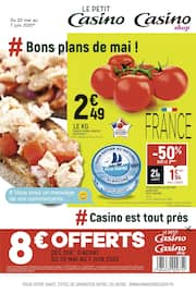 Catalogue Petit Casino en cours, # Bons plans de mai !, Page 1