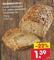 Brot im aktuellen Netto Marken-Discount Prospekt für 1.39€