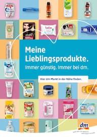 Aktueller dm-drogerie markt Prospekt, Meine Lieblingsprodukte. Immer günstig. Immer bei dm., Seite 1