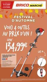 Catalogue Bricomarché en cours, Festival d'automne, Page 1