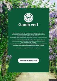 Catalogue Gamm Vert en cours, Gamm Vert, Page 1
