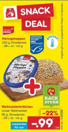 Backwaren im aktuellen Netto Marken-Discount Prospekt für 0.99€