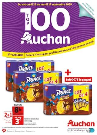 Catalogue Auchan en cours, Top 100 Auchan, Page 1