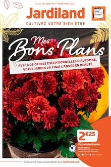 """Jardiland Catalogue """"Mes bons plans"""", 12 pages, Saint-Brice-sous-Forêt,  19/10/2021 - 01/11/2021"""