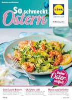 Aktueller Lidl Prospekt, So schmeckt Ostern!, Seite 1