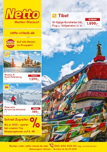 Netto Marken-Discount Prospekt Reisen … zu Netto-Preisen!