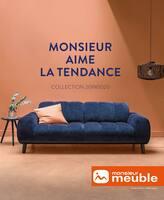 Catalogue Monsieur Meuble en cours, Monsieur aime la qualité, Page 1