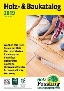 Holz Possling, HOLZ- & BAUKATALOG für Berlin
