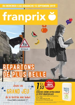 Catalogue Franprix en cours, Repartons de plus belle, Page 1