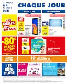 Catalogue Carrefour en cours, C'est parti pour 4 semaines, encore moins chères !, Page 2