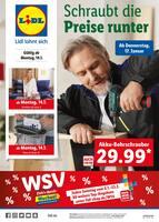 Aktueller Lidl Prospekt, WSV - Schraubt die Preise runter, Seite 1