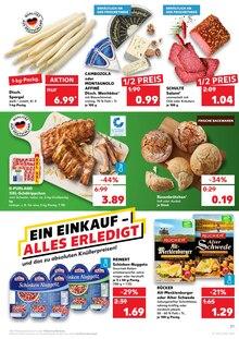Brot im Kaufland Prospekt KNÜLLER auf S. 1