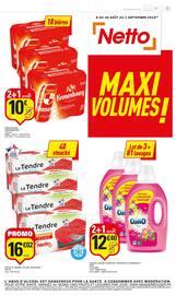Catalogue Netto en cours, Maxi volumes !, Page 1
