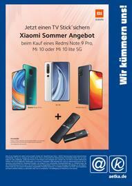 Aktueller aetka Prospekt, Xiaomi Sommer Angebot, Seite 1