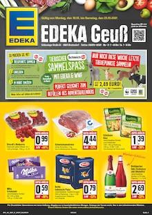 EDEKA Prospekt für Rudolstadt: Wir lieben Lebensmittel!, 24 Seiten, 17.10.2021 - 23.10.2021