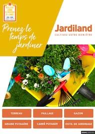 Catalogue Jardiland en cours, Prenez le temps de jardiner, Page 1