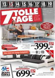 Aktueller Seats and Sofas Prospekt, 7 tolle Tage, Seite 1