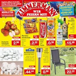 Aktueller Zimmermann Prospekt, Mehr als Du denkst! , Seite 1