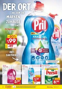 Waschmittel im Netto Marken-Discount Prospekt DER ORT, AN DEM REGIONALITÄT FÜR QUALITÄT STEHT. auf S. 5