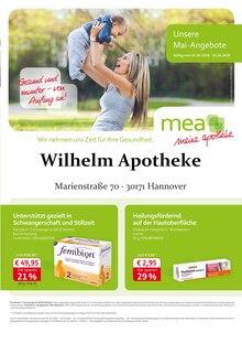 mea - meine apotheke,  UNSERE MAI-ANGEBOTE  für Hannover