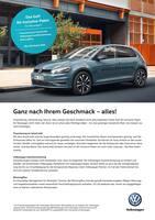 Aktueller Volkswagen Prospekt, Ganz nach Ihrem Geschmack - alles!, Seite 1