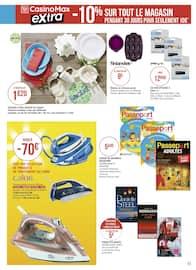 Catalogue Casino Supermarchés en cours, Les promos entrent en scène !, Page 43