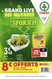 Catalogue Spar en cours, Le grand live des marques Spar ici !, Page 1