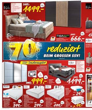 Aktueller porta Möbel Prospekt, Bis zu 70% reduziert, Seite 6