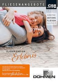 Aktueller M. Dohmen GmbH Prospekt, Fliesenangebote, Seite 1