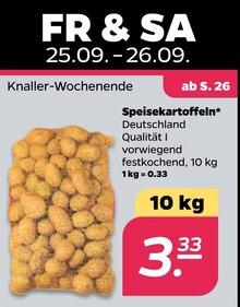 Kartoffeln im aktuellen NETTO mit dem Scottie Prospekt für 3.33€